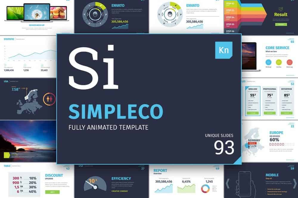 SIMPLECO - Business Keynote Template