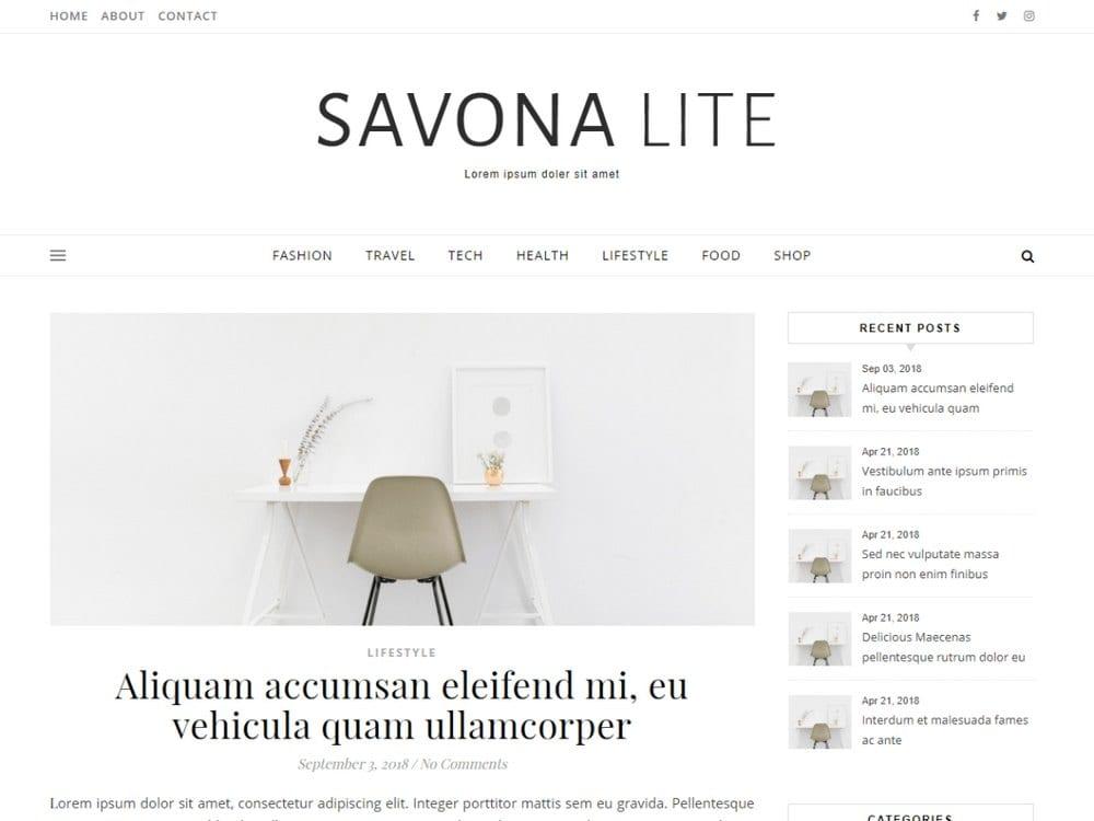 Savona Lite-free-wordpress-theme