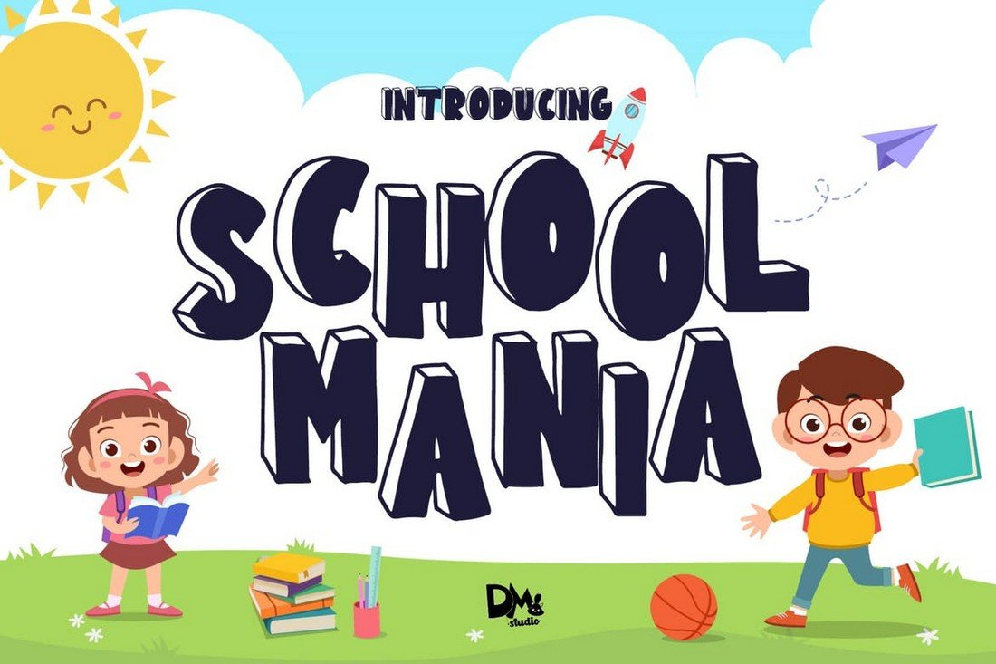 School Mania - Blok Huruf Anak