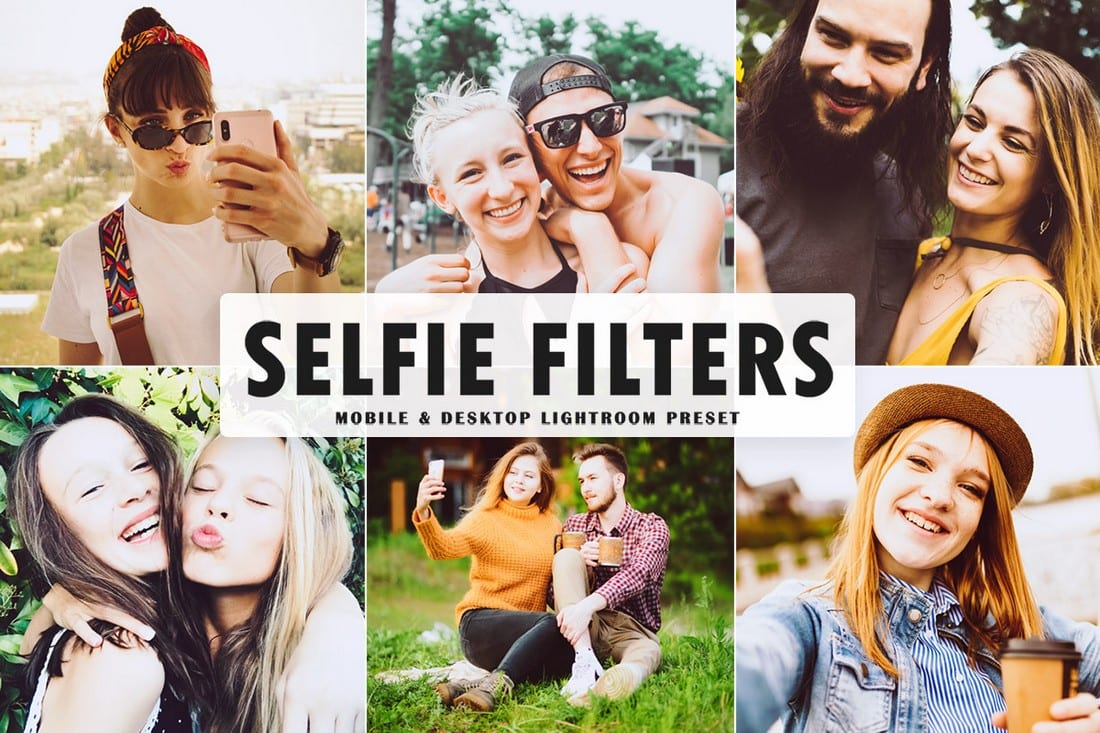 Selfie Filters - Free Mobile & Desktop Lightroom Preset