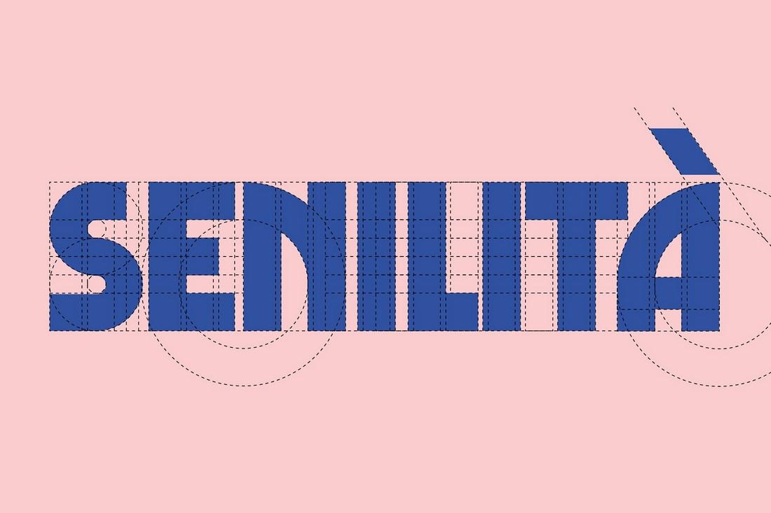 Senilit - Font Cricut Retro Gratis