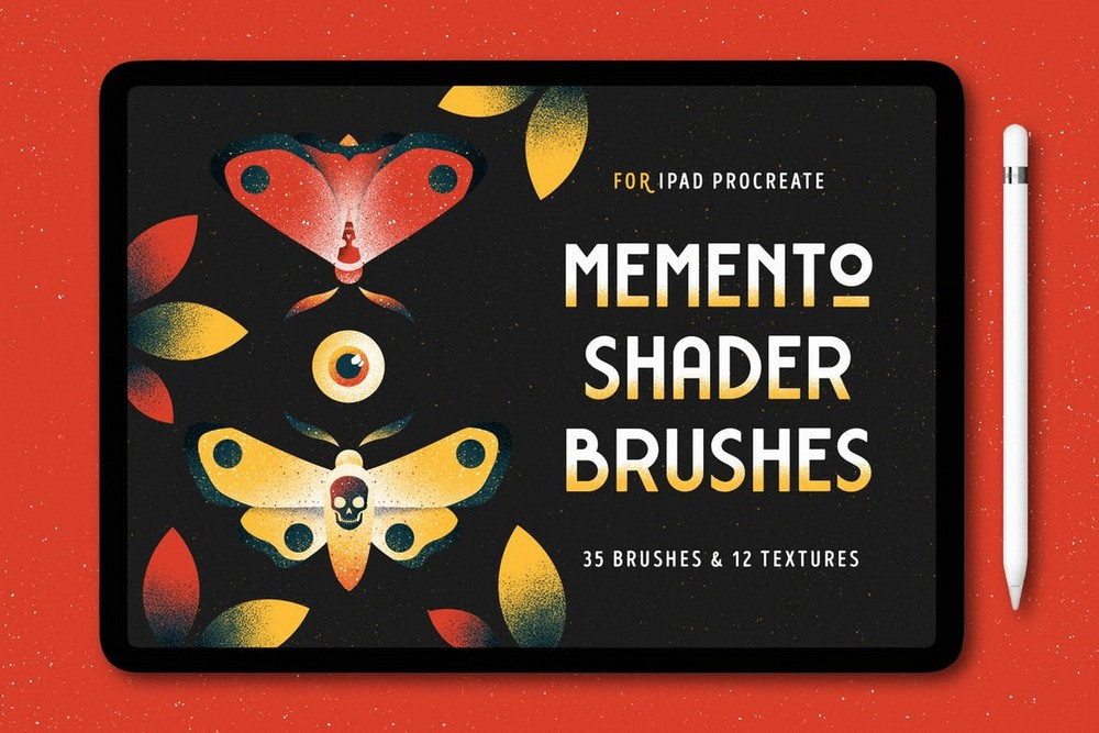 Shader Brushes & Textures for Procreate