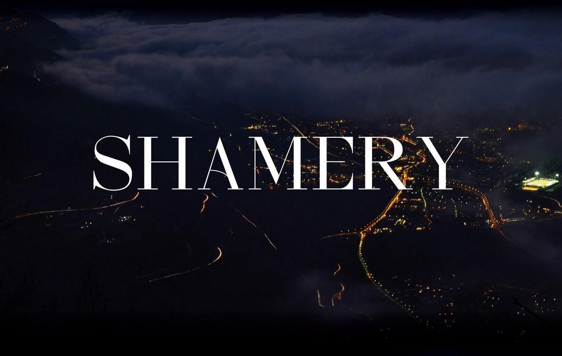 Shamery - Free Business Serif Font