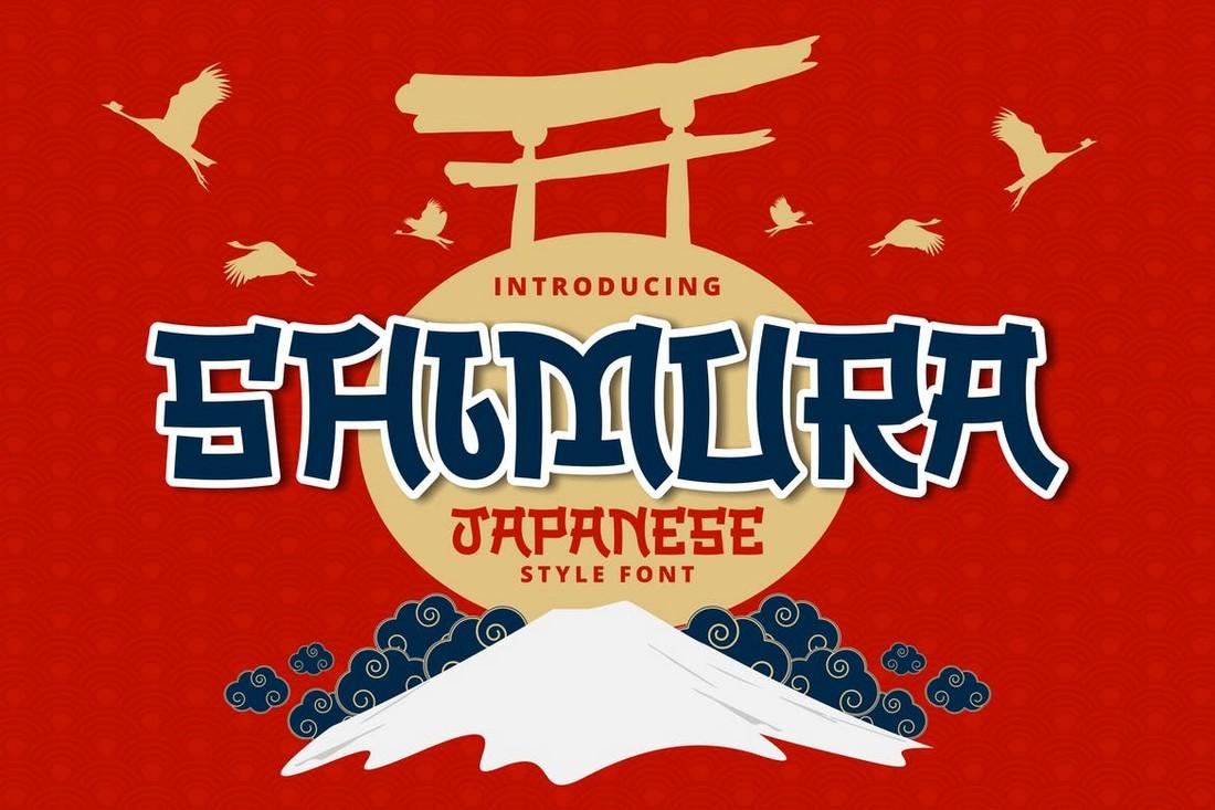 Shimura - Font Gaya Jepang