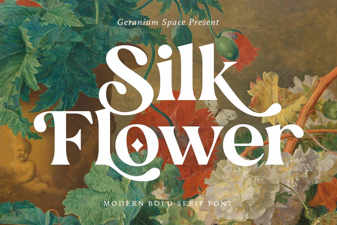 Bunga Sutra - Font Elegan Gratis untuk Cricut