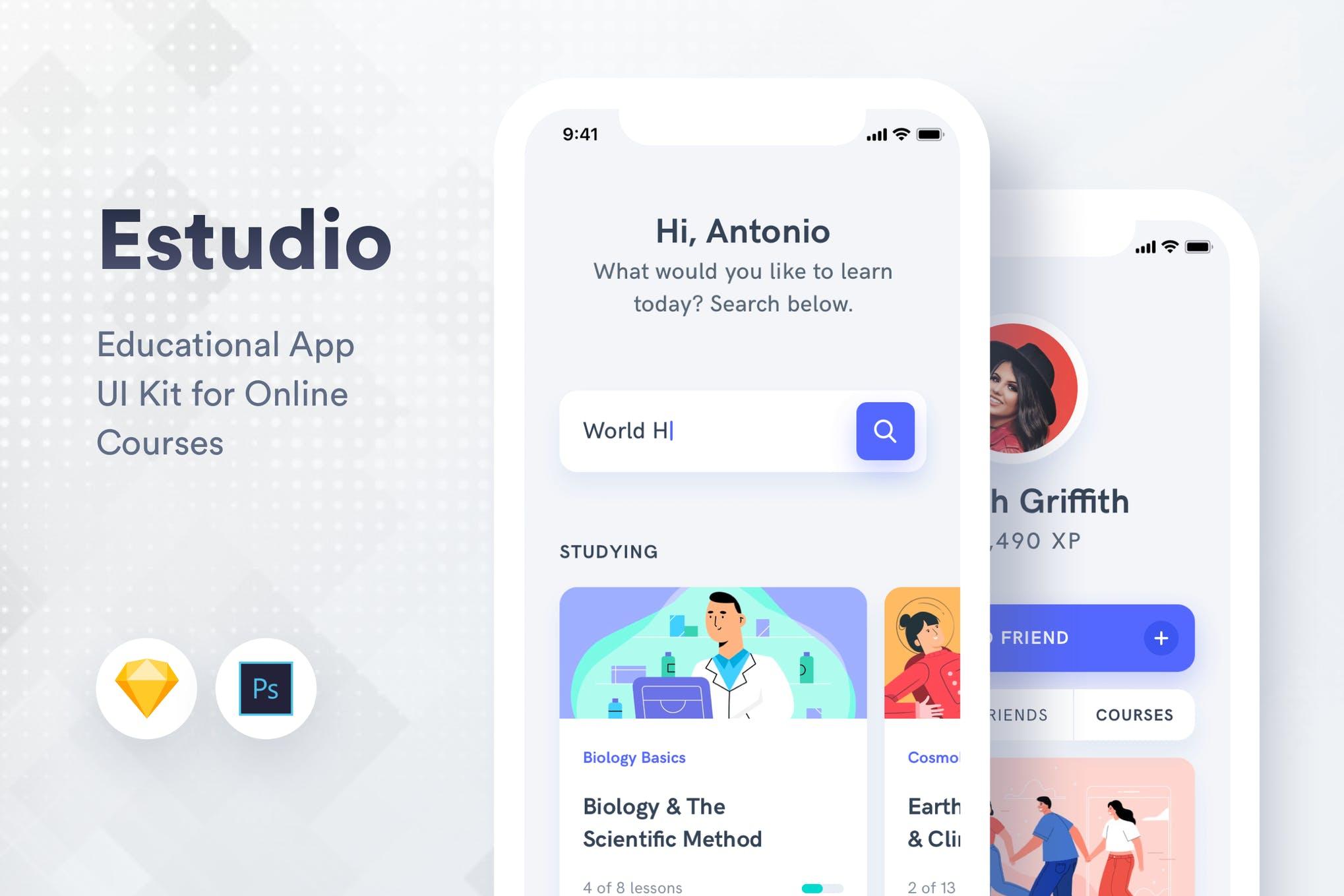Sketch iOS App Templates