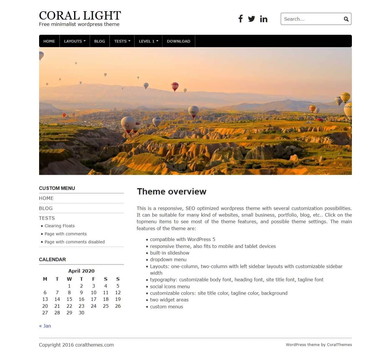 Coral Light