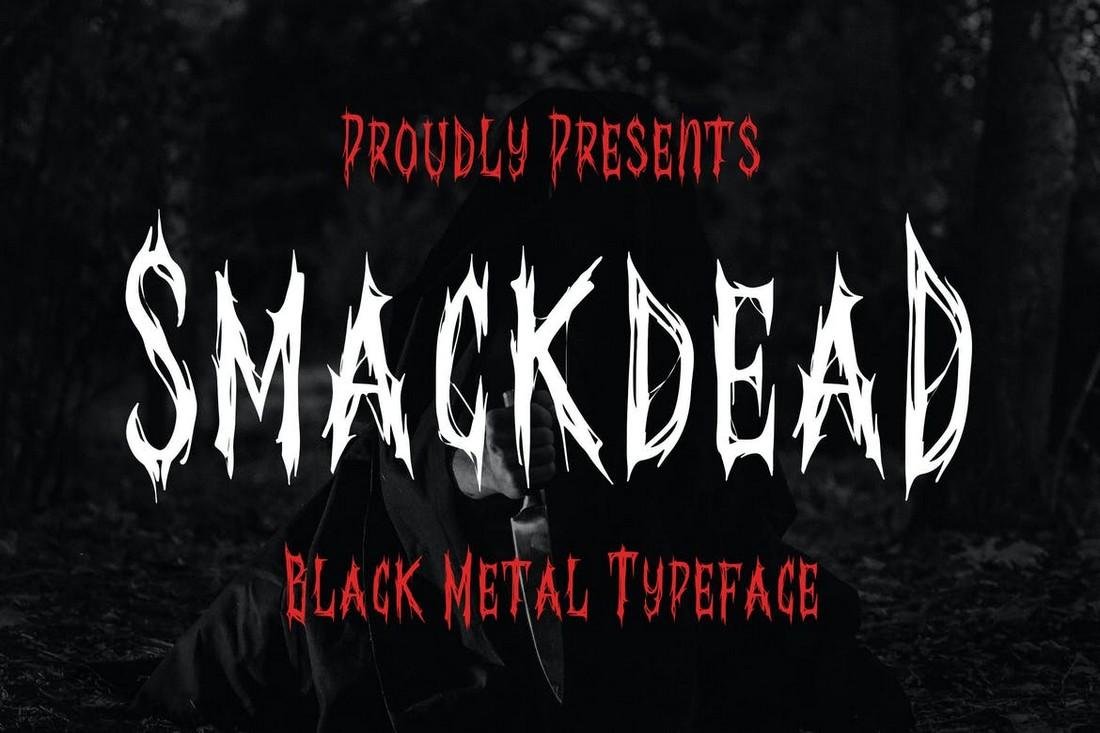Smackdead - Black Metal Font