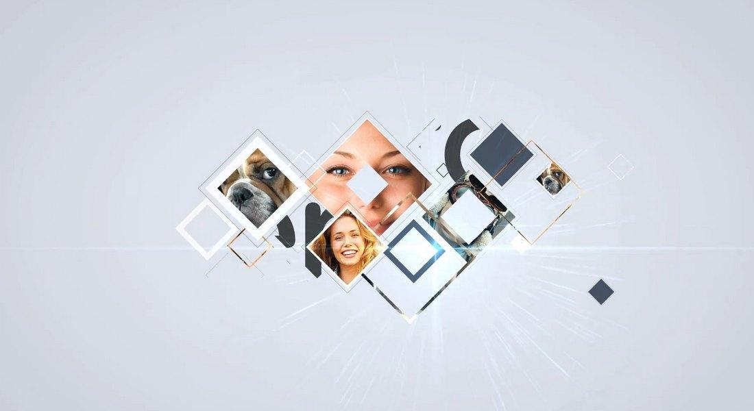 Smart Slideshow Logo Reveal Premiere Pro Template