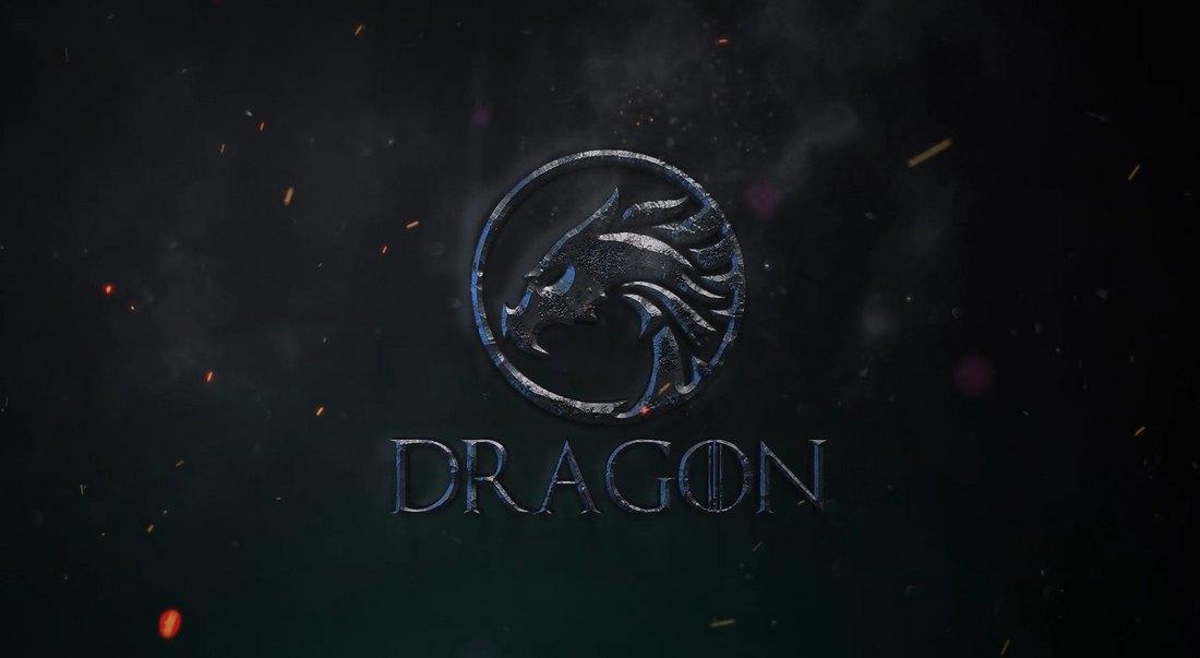 Smoke Logo Animation Template for Premiere Pro