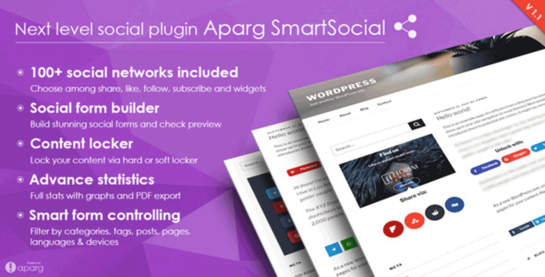 Aparg Social Media WordPress Plugin