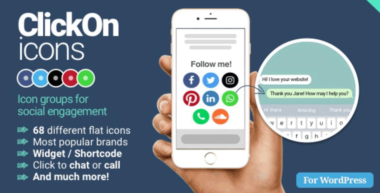 ClickOn Social Icons Plugins