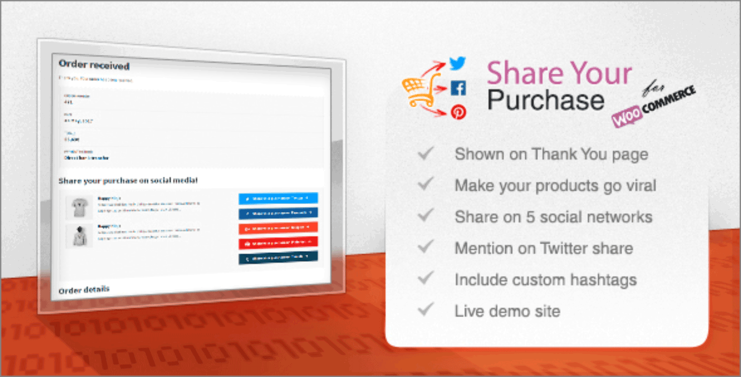 social media wordpress plugins share your purchase   theme
