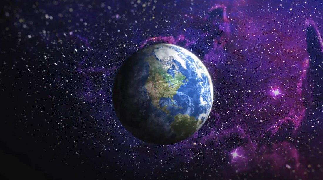 Space Logo Animation Premiere Pro Template