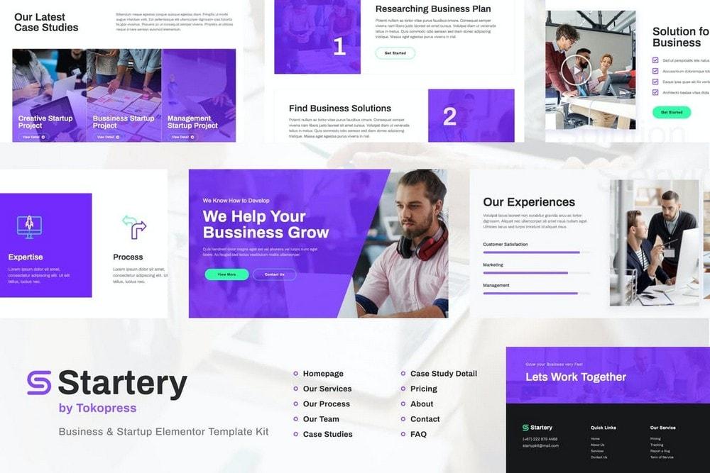 Startery - Business & Startup Elementor Template Kit