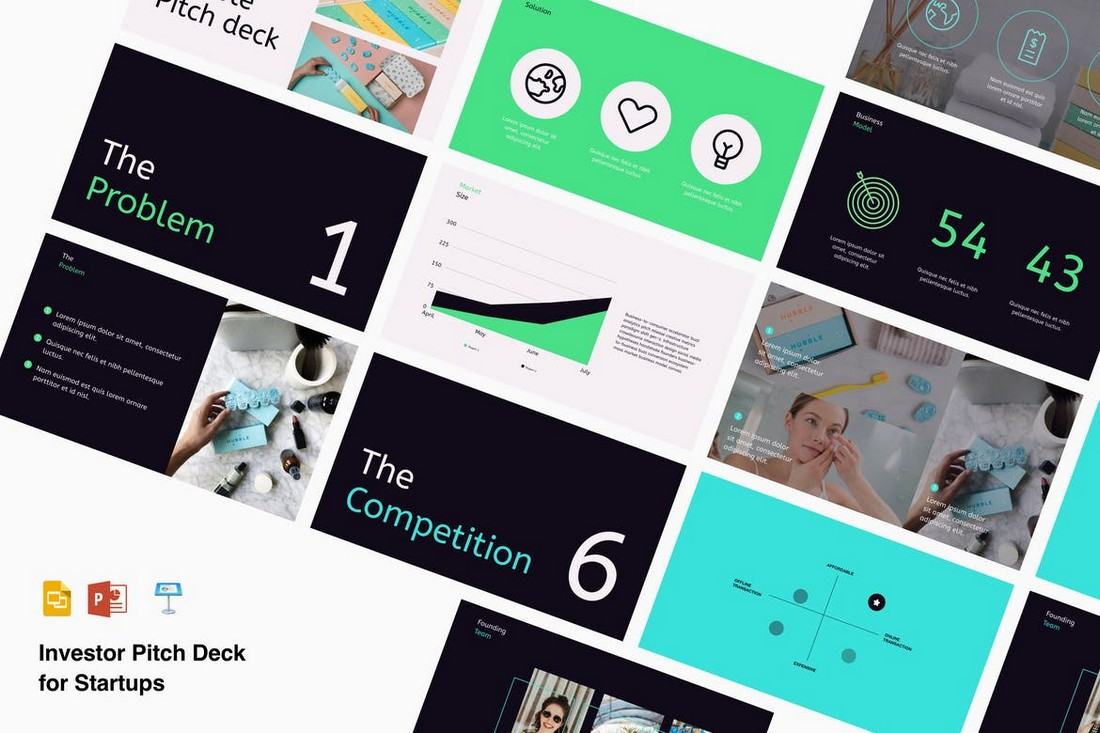 Startup Pitch Deck Presentation Template