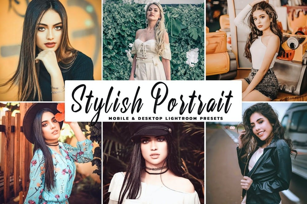 Stylish Portrait Pro Lightroom Preset