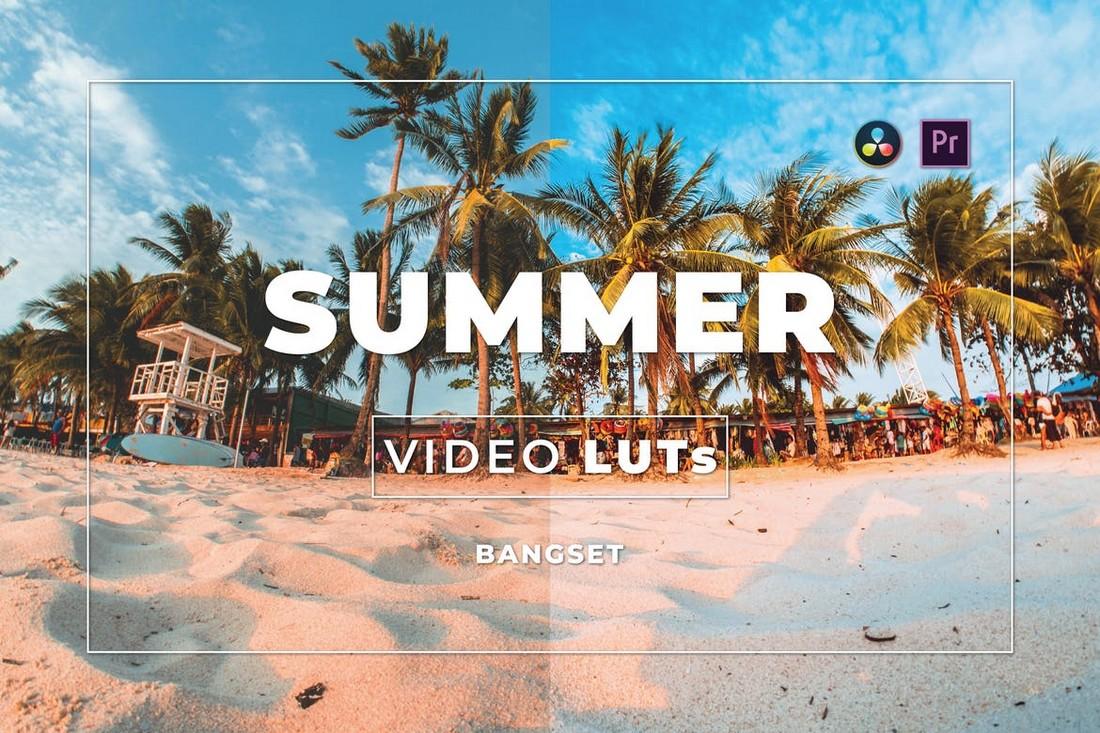 Video Musim Panas LUT untuk Premiere Pro