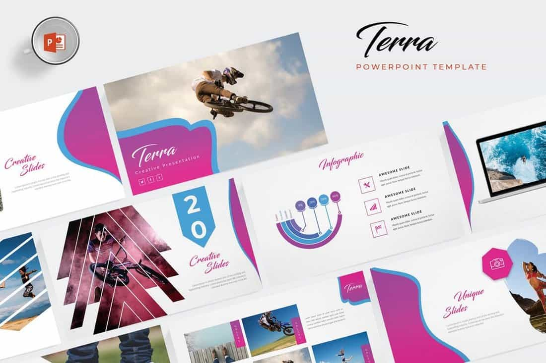 Terra - Creative Powerpoint Template