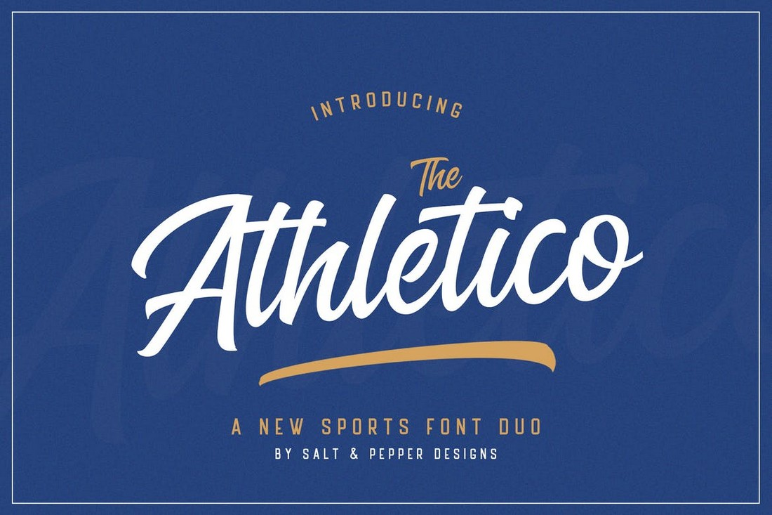 The Athletico - Baseball Font Duo