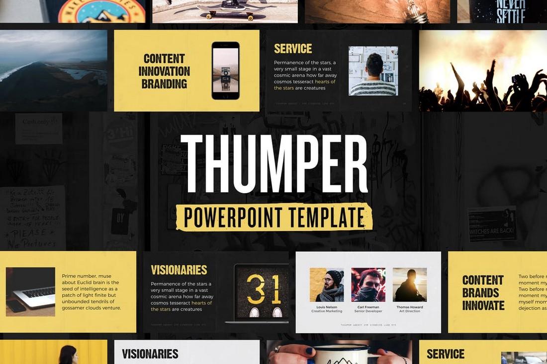 Thumper - Template Presentasi Powerpoint