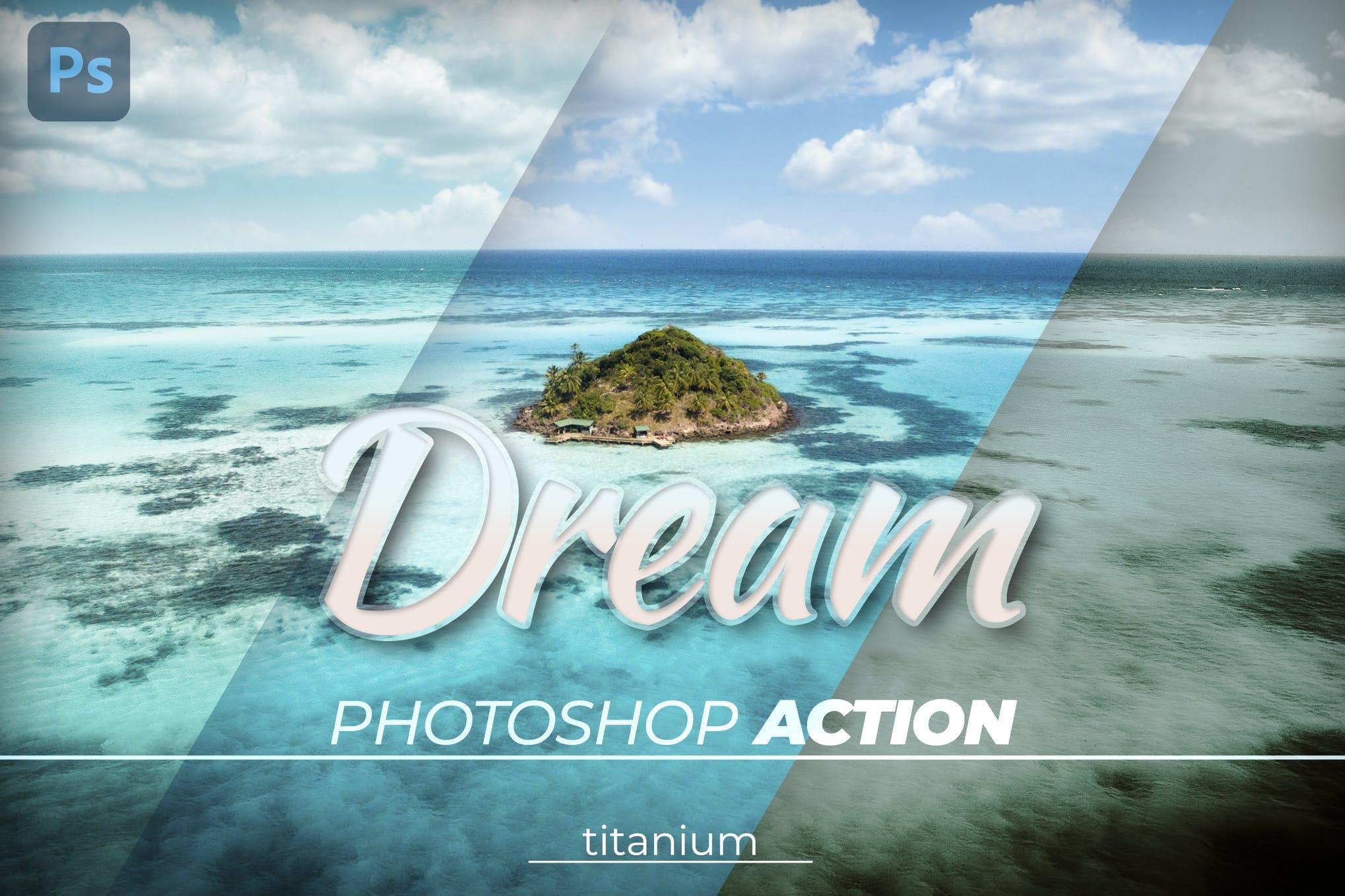 Titanium Dream Color Photoshop Action