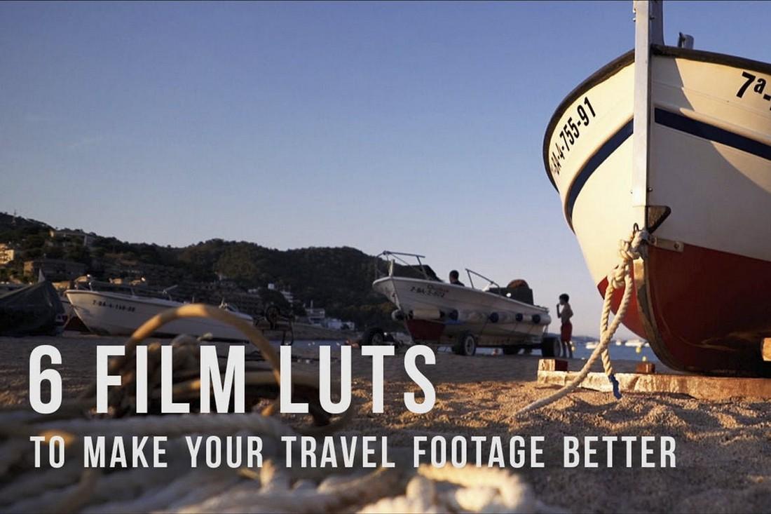 Perjalanan film LUTs untuk Premiere pro