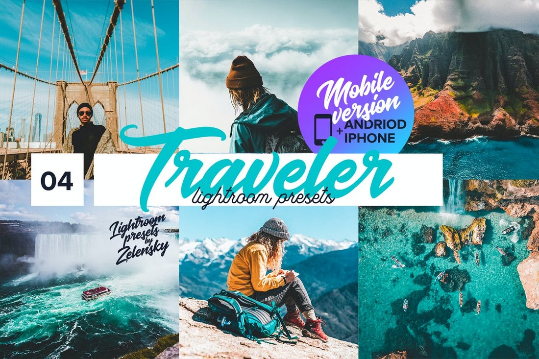 Traveler mobile Lightroom Presets