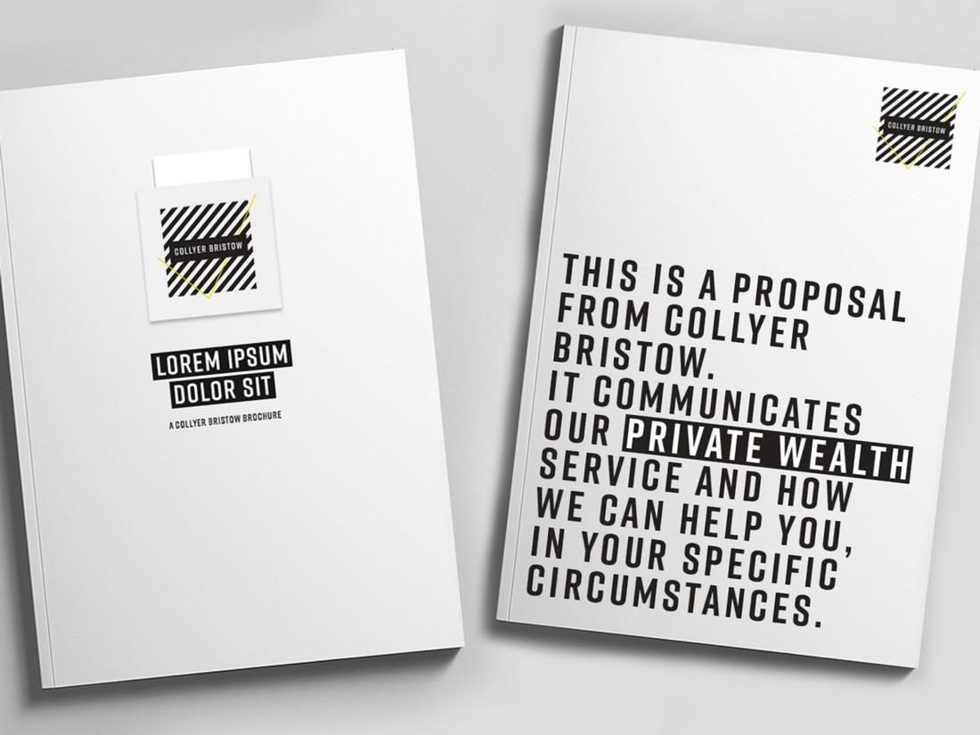 Typographic Brochure 2