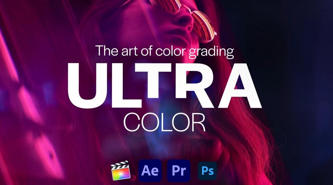 Ultra Color - 100 LUT untuk Premiere Pro