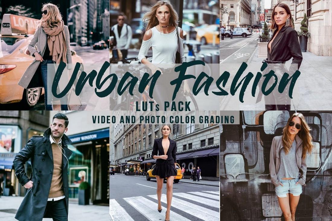 Paket Urban Fashion Premiere Pro LUTs