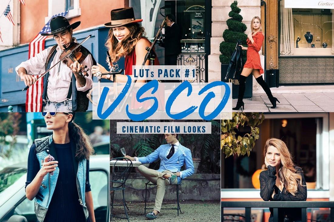 VSCO LUTs - Penampilan Film Pro Premiere