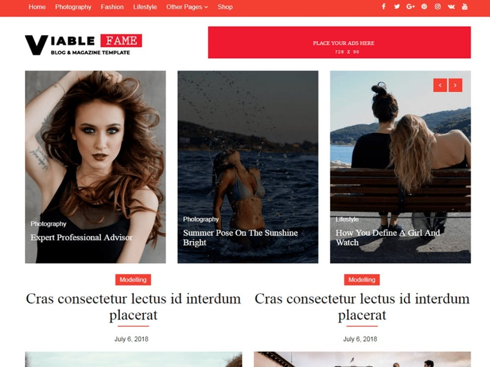 Viable Fame-free-wordpress-theme