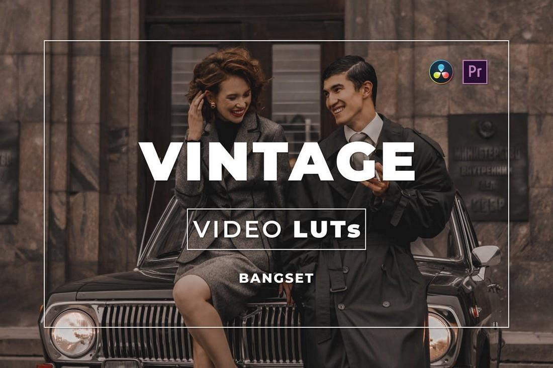 Video LUT Vintage untuk Premiere Pro