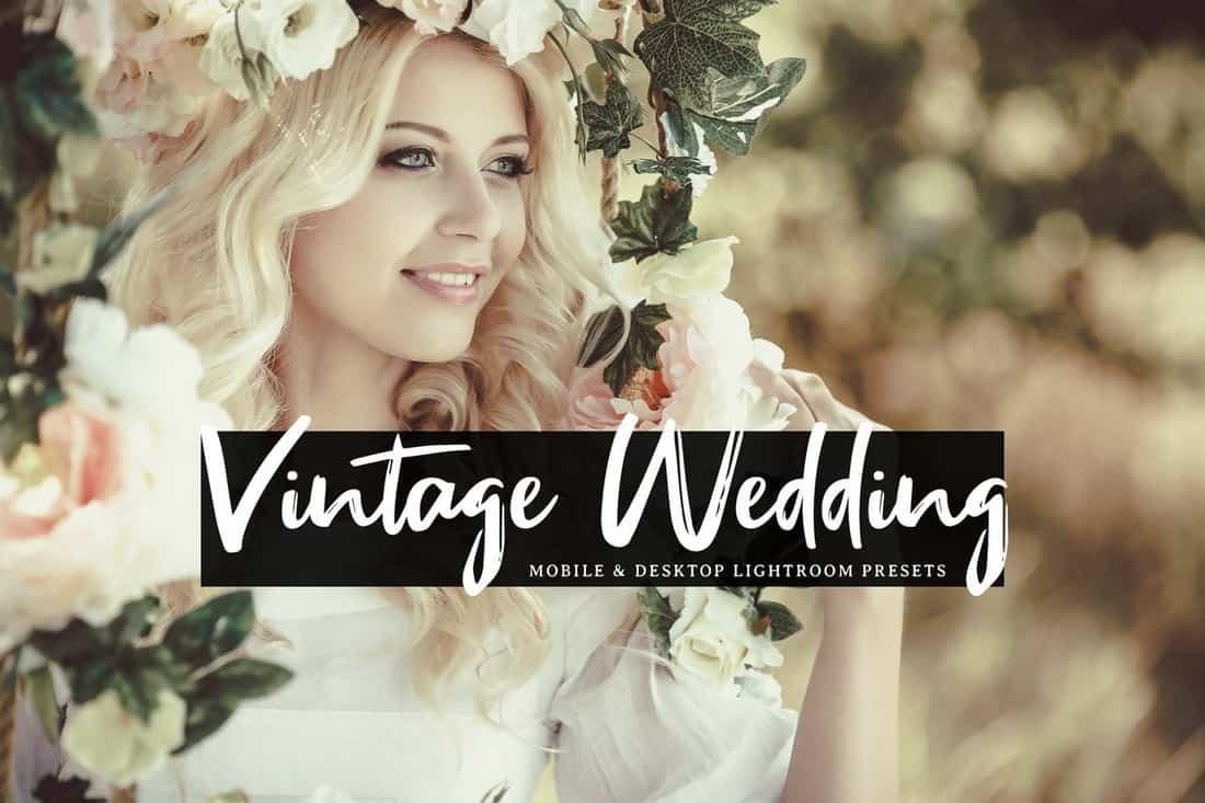 Vintage Wedding - Mobile & Desktop Lightroom Presets