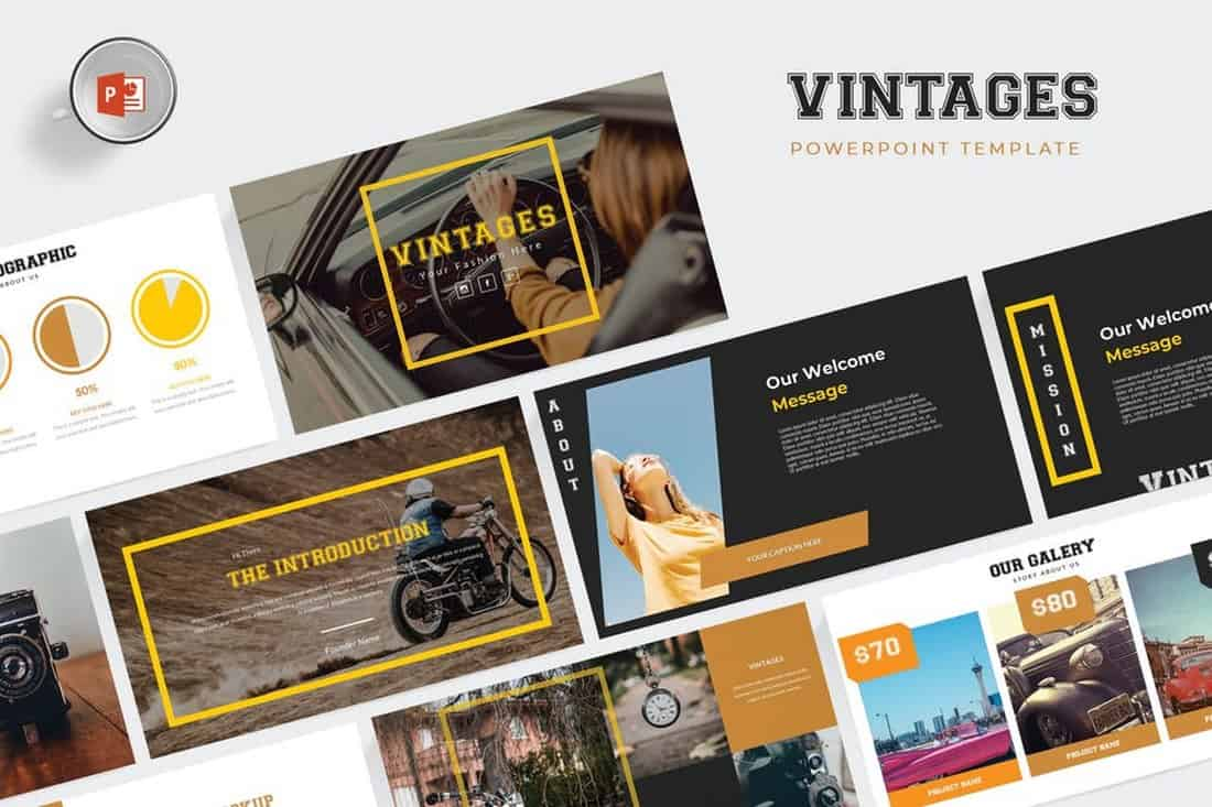 Vintages - Modern Powerpoint Template