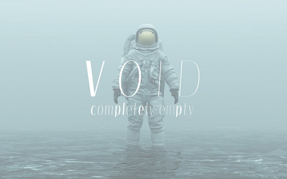 Void - Free Creative Font