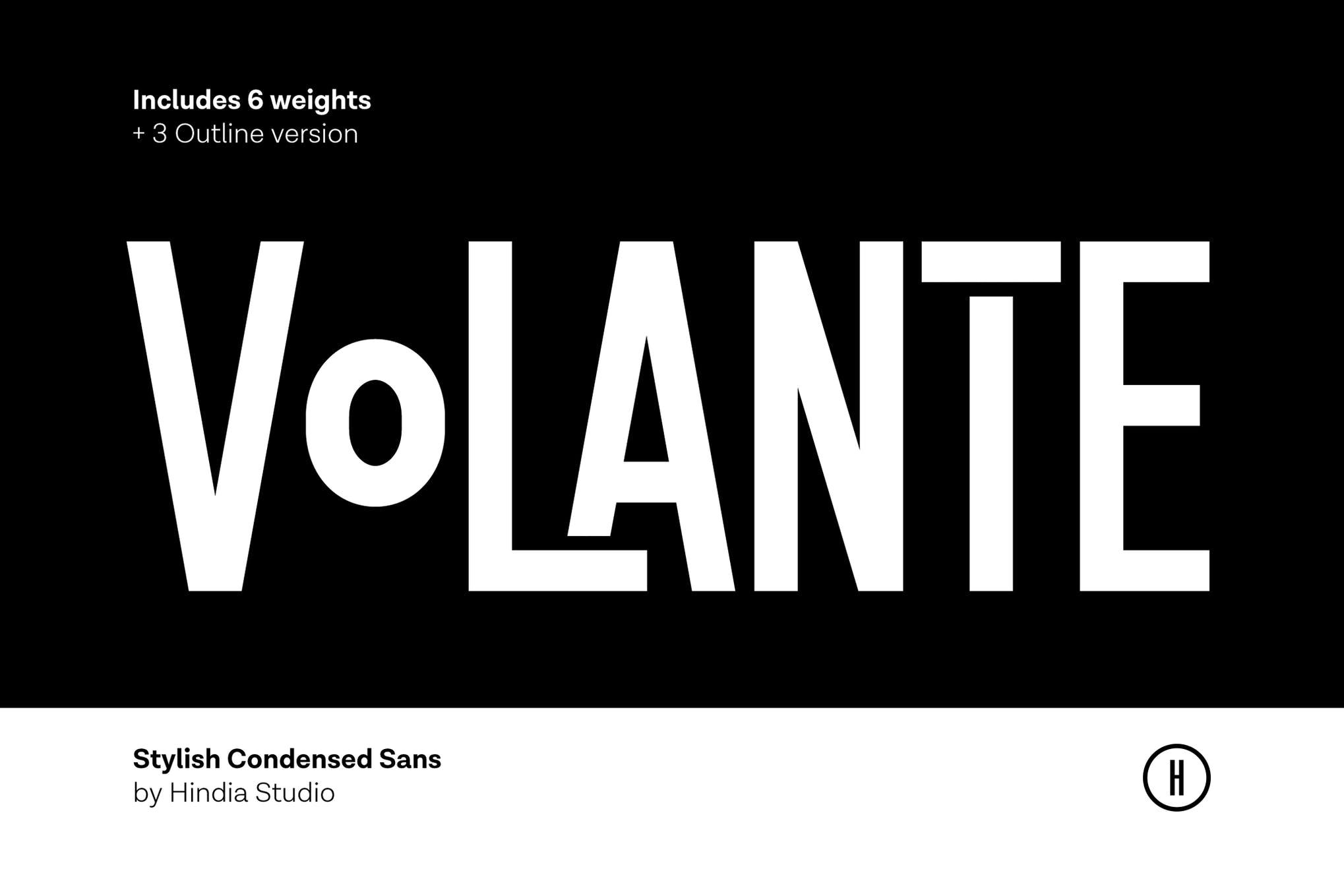 Volante - Condensed Sans Family