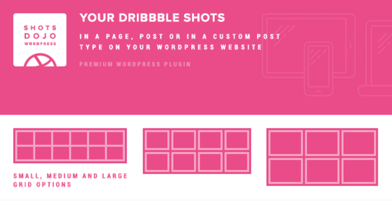 WPShotsDojo Dribbble Plugin