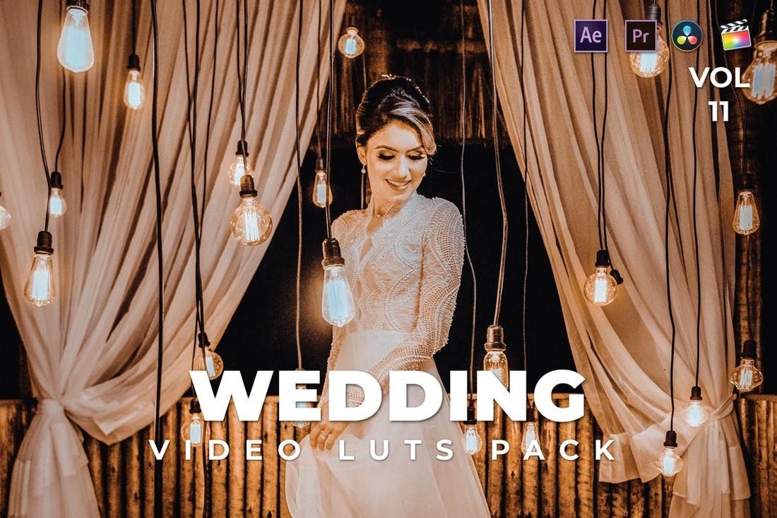 Video Pernikahan LUT untuk FCPX
