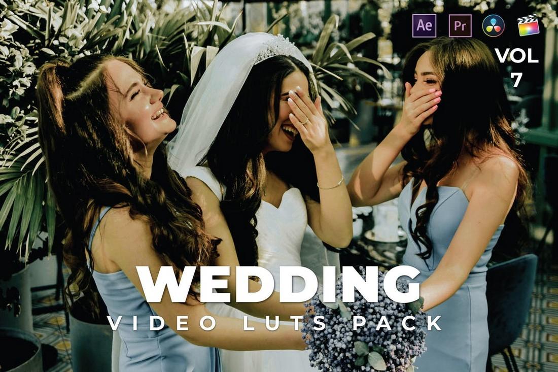 Video Pernikahan LUT untuk Premiere Pro