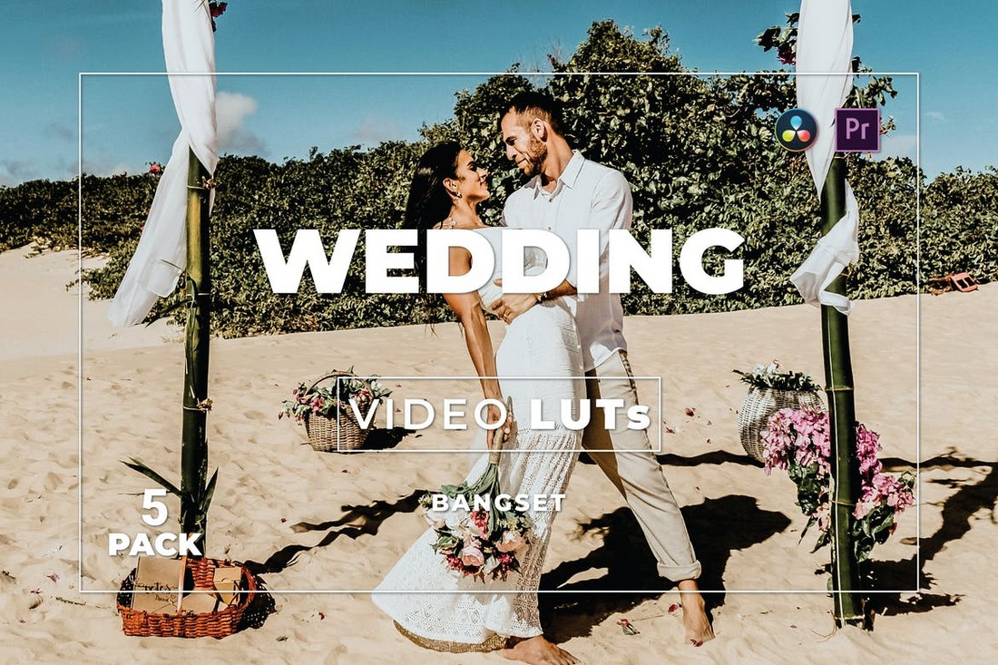 Video Pernikahan Premiere Pro LUTs Pack