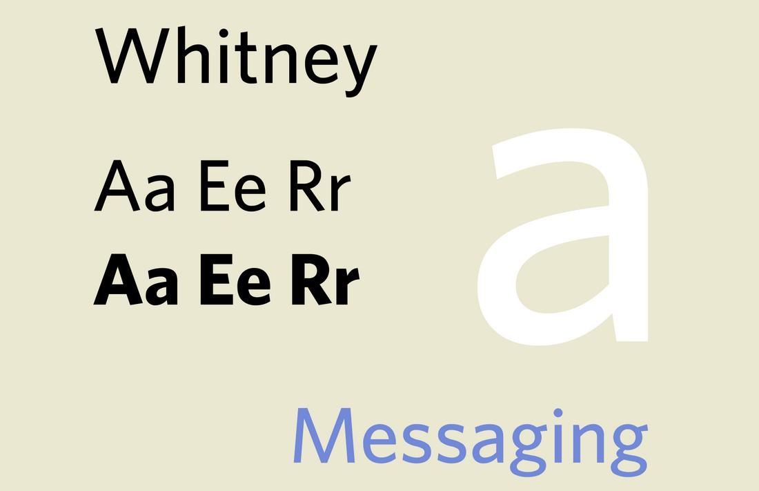 font Whitney