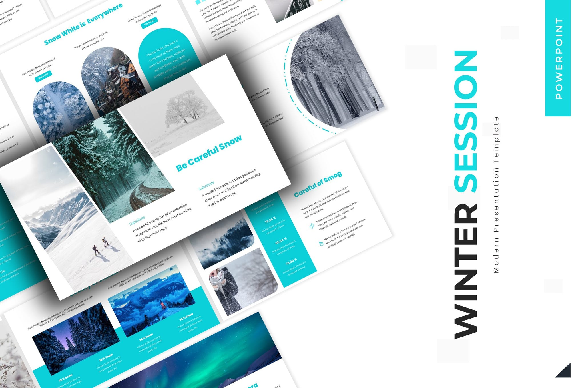 Winter Session - Powerpoint Template