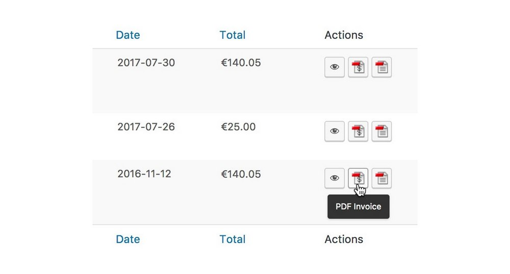 WooCommerce PDF Invoices 2