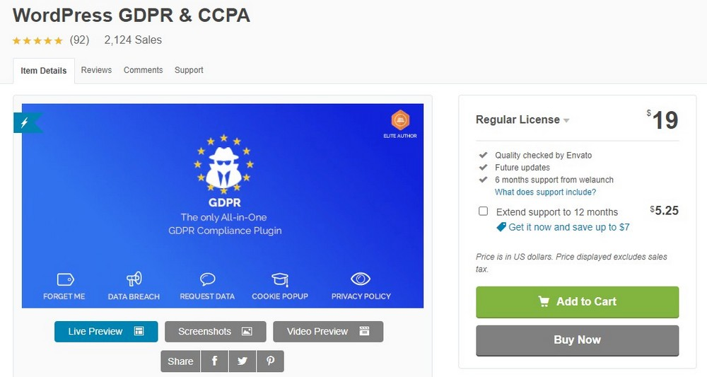 WordPress GDPR & CCPA