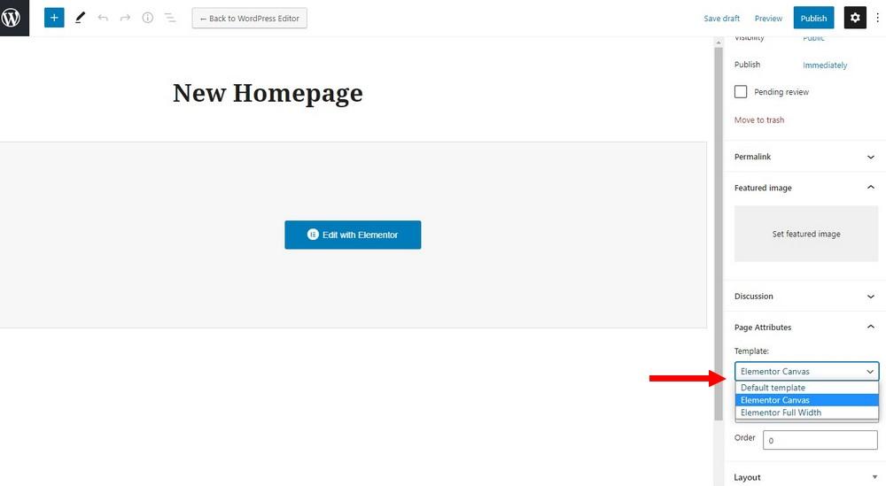 Wordpress custom homepage 2