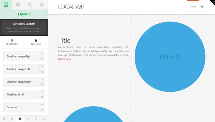 X WordPress Theme Review Cornerstone UI