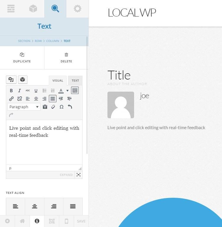 X WordPress Theme Review Cornerstone UI Editing