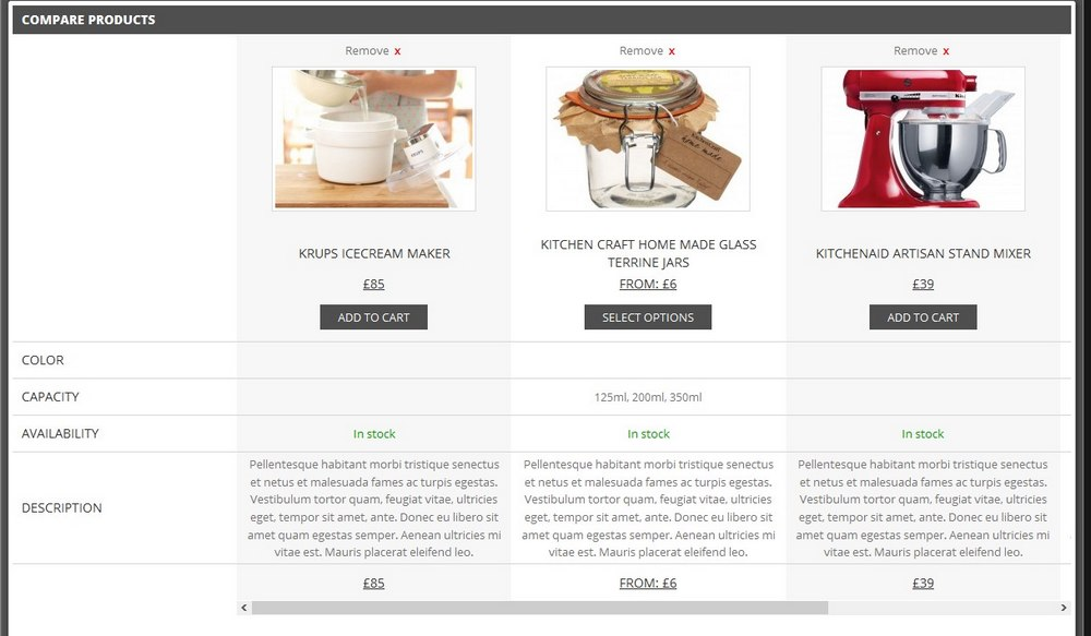 YITH WooCommerce Compare 2